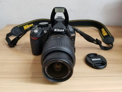 Nikon dslr camera with video, full set, connect with mobile
