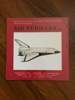 "Glenn Doman ""Bit of Intelligence"" cards ""Air Vehicles"""