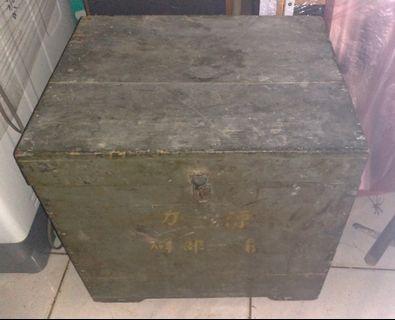 各式早期木箱