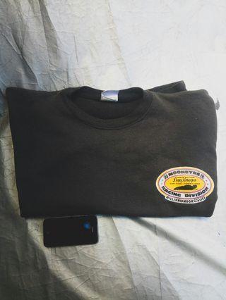 Sweater Crewneck Moonyes x Jim dunn