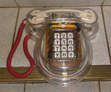 各式早期電話機