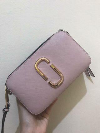 Marc Jacobs Snapshot bag in pink