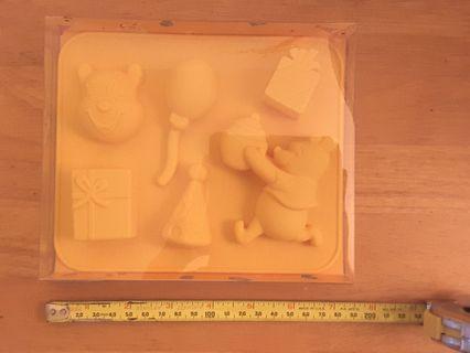 Disney 迪士尼 Winnie the Pool 小熊維尼 硅膠 製冰格 Silicon Ice Mould 全新