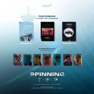 GOT7 <SPINNING TOP : BETWEEN SECURITY & INSECURITY>