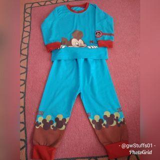 #BAPAU 👕PL👕 baju tidur mickey 18M