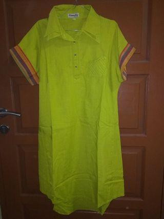 Dress hijau mint