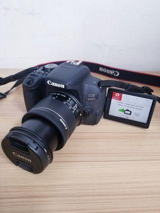 Canon Touch screen Latest model,800d, wifi bluetooth, 24 megapixel