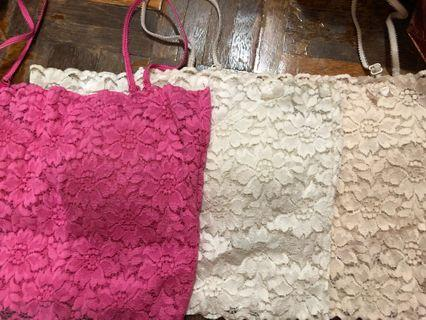 Ladies lace camisole