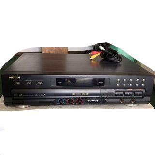Philips CDC763V disc changer with karaoke player