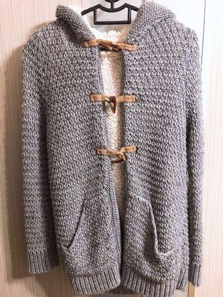 ZARA knitted Jacket / Coat