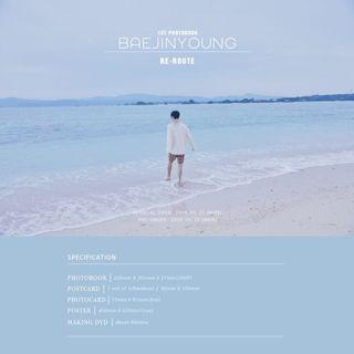 [EMS PO] Bae Jinyoung 1st Photobook - Re-Route