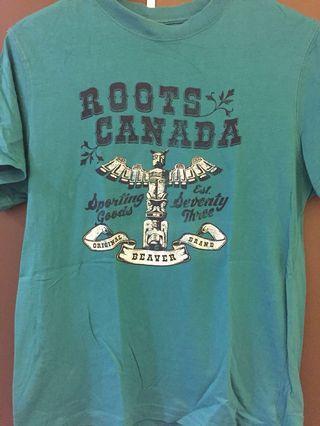 🚚 Roots印地安圖騰logo上衣