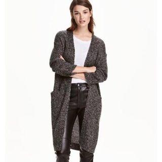 H&M Long Knitted Cardigan #SwapAU