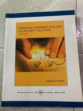 Financial statement analysis and security valuation 3rd edition
