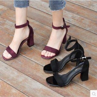 💥NEW💥Korean Style Open Toe Strappy Heel