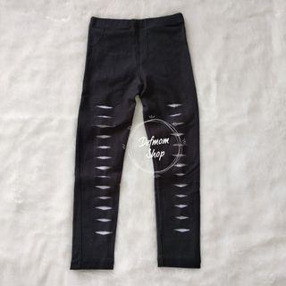 Black Ripped Legging #BAPAU #MAUVIVO