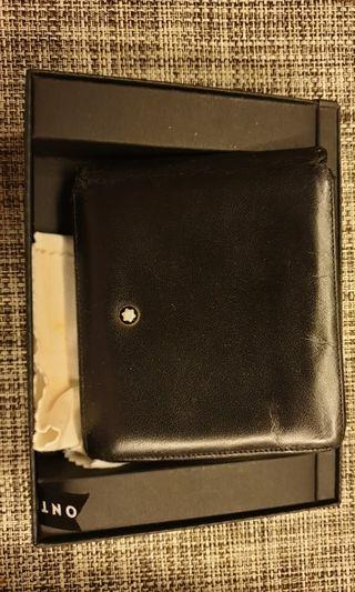 🚚 Mont Blanc Wallet bifold with 8 cards