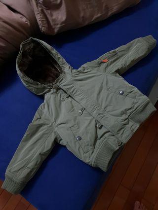 babyGap防風保暖外套