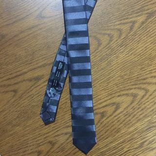 🚚 Neck Tie Striped Black ASOS Zara