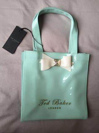 Ted Baker Small Bow Shopper Ikon Bag