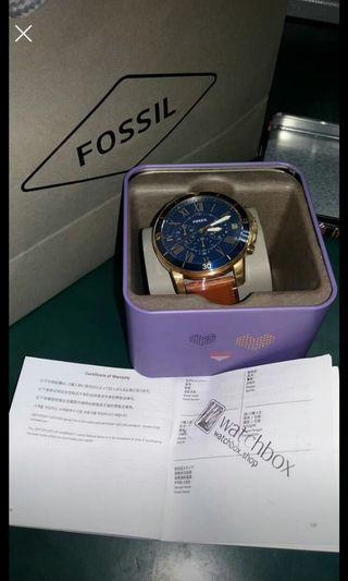 🚚 fossil grant