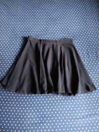 Forever 21 navy blue cute skirt