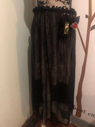 NEW Black See-through Dress