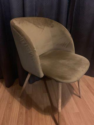 SSF Suede Chair