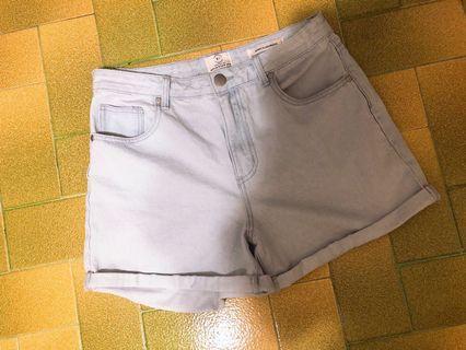 Brand New Cotton On High-waisted Light Blue Denim Shorts (AUS14/US10)