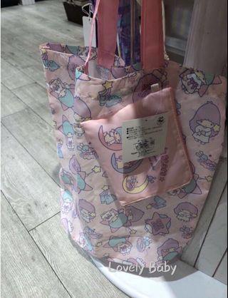 🌠快閃優惠🌠日本Sanrio🌟Twins Star 🌟環保袋