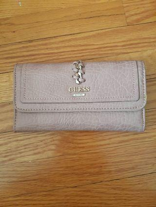 GUESS wallet - blush pink never used