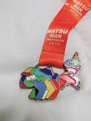 馬祖鐵人三項獎牌