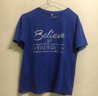 Brand new T shirt (Blue)