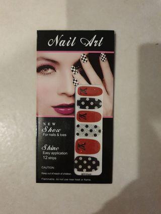 Brand New Nail Art Stickers