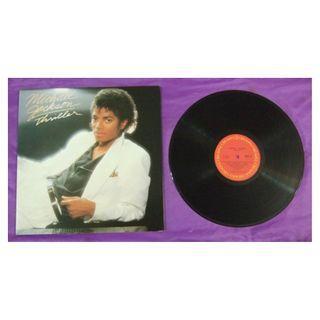 Michael Jackson《Thriller》 黑膠唱片-附歌詞紙