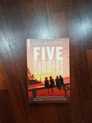 Five Summers by Una LaMarche