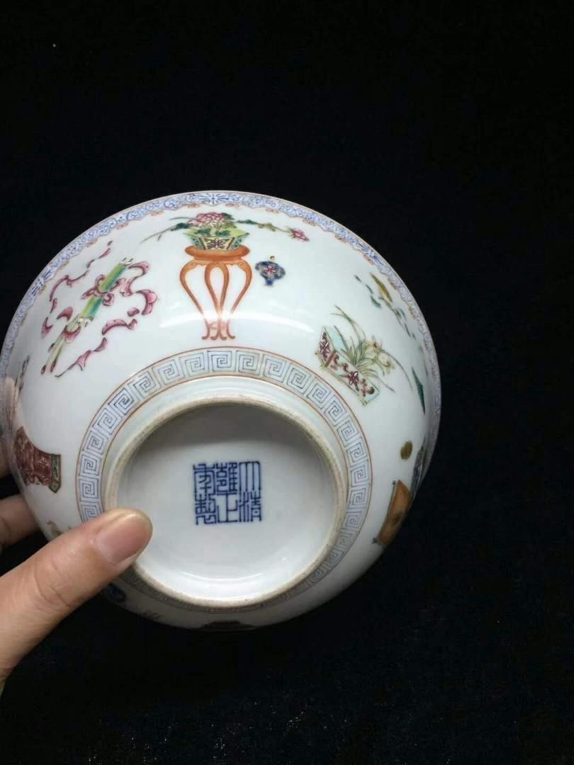 大清雍正年製款古瓷碗