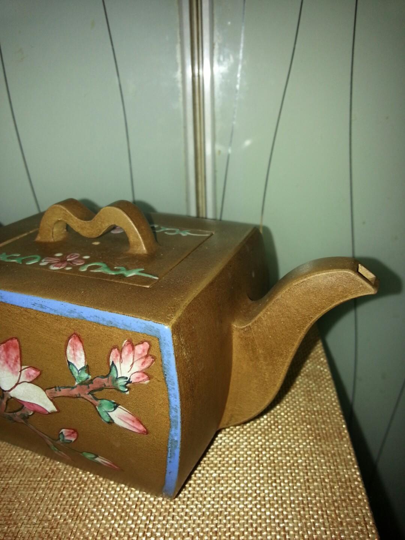 乾隆禦製款紫砂茶壺