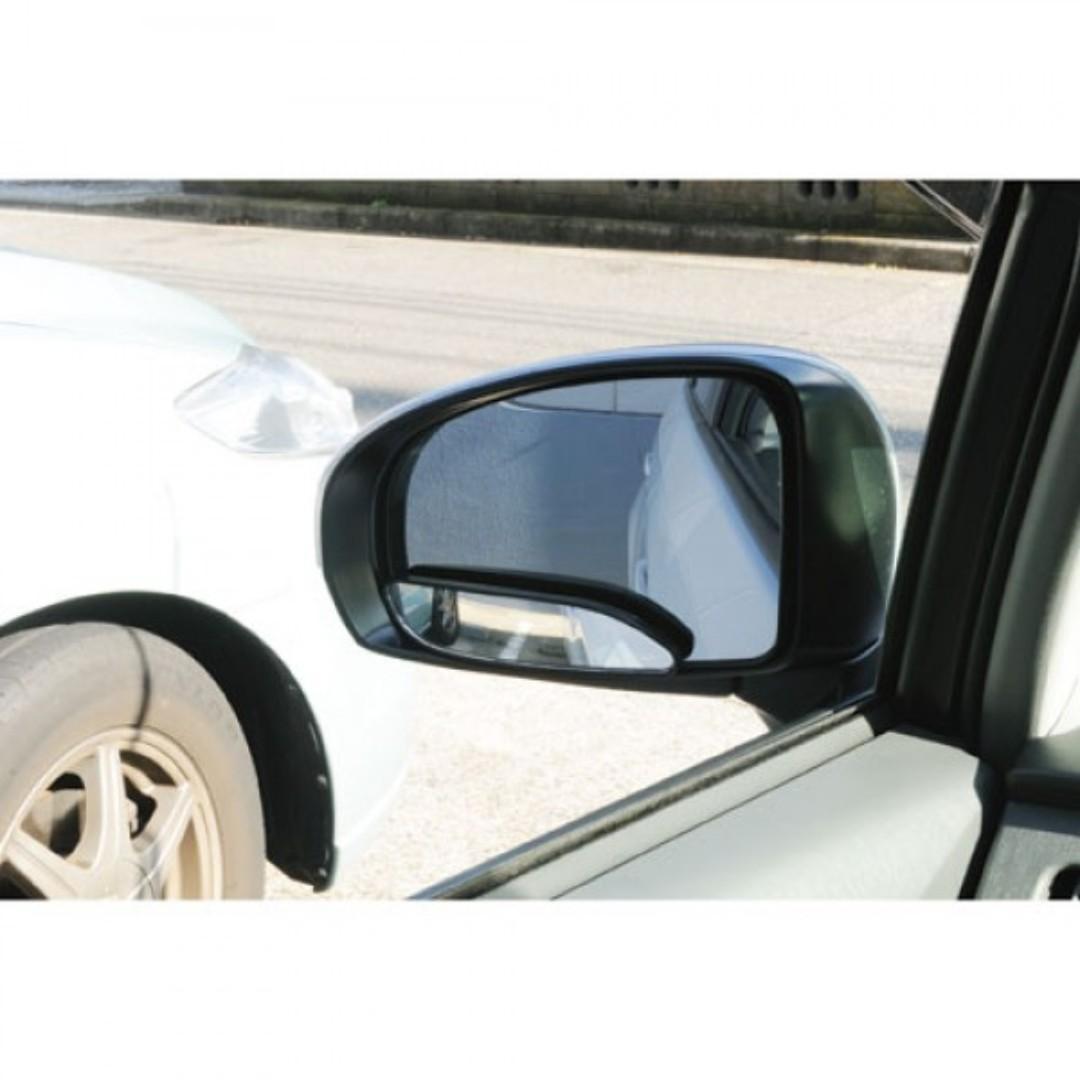 日本 汽車用汽車倒後鏡專用盲點鏡廣角鏡中鏡附加鏡長型鏡