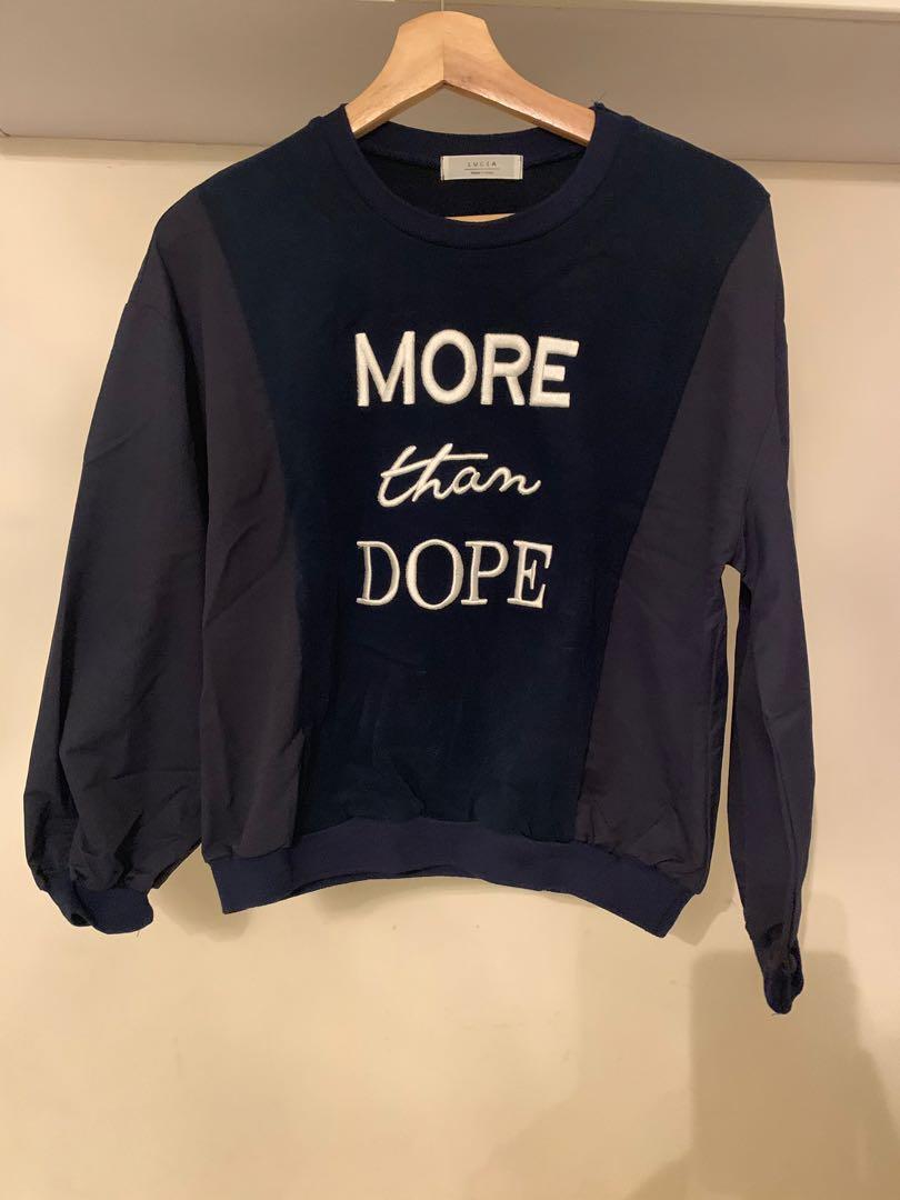 韓國衫 深藍色 全新 不議價 折實價 $60