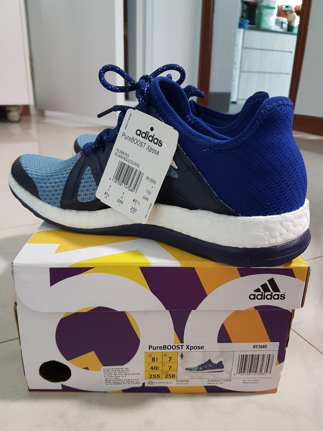 Adidas PureBOOST Xpose Women running shoes, Sports, Sports
