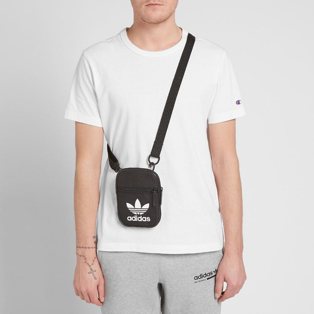 adidas trefoil festival sling bag, Men