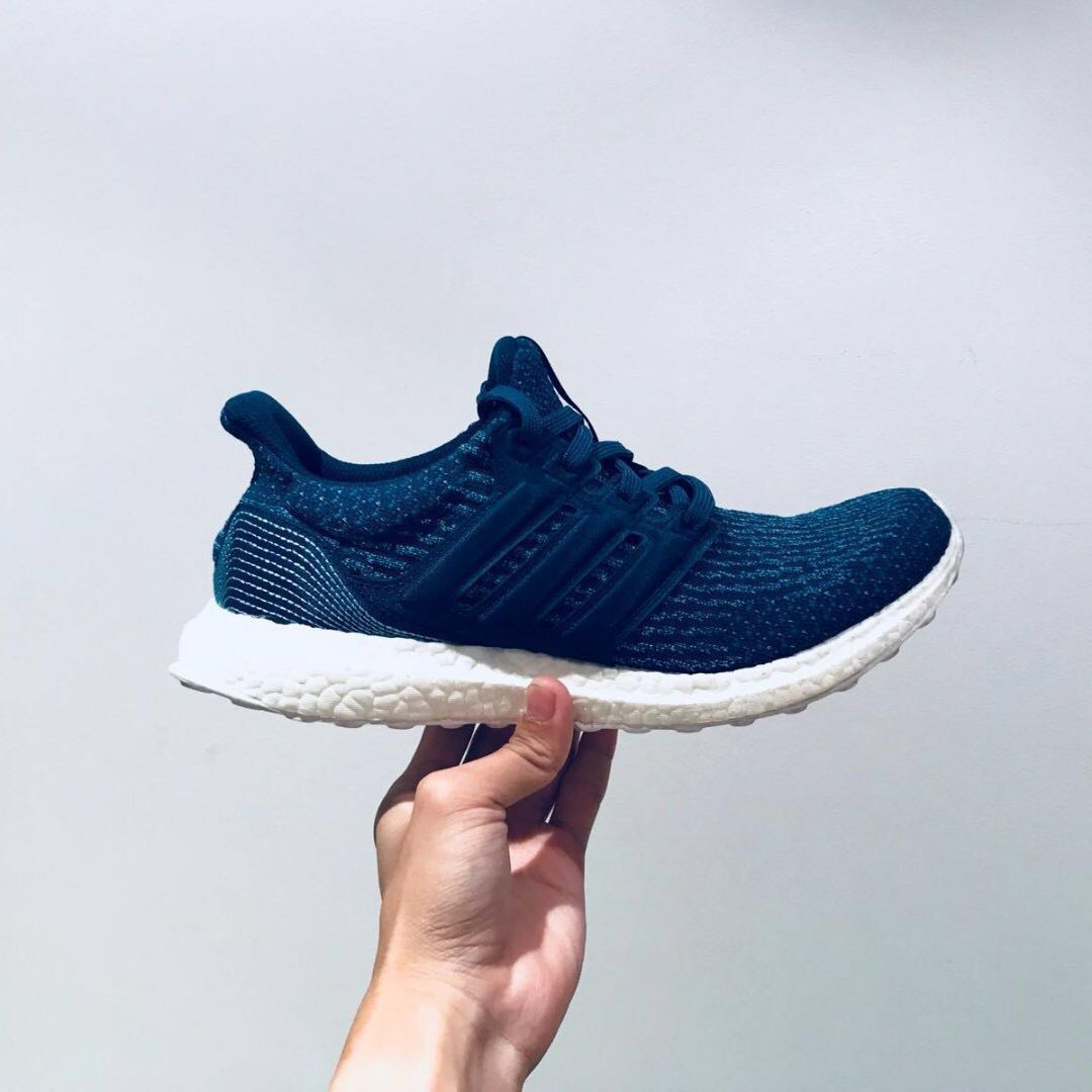 promo code 9ea63 cf3f6 Adidas Ultra Boost 3.0 Parley Night Navy