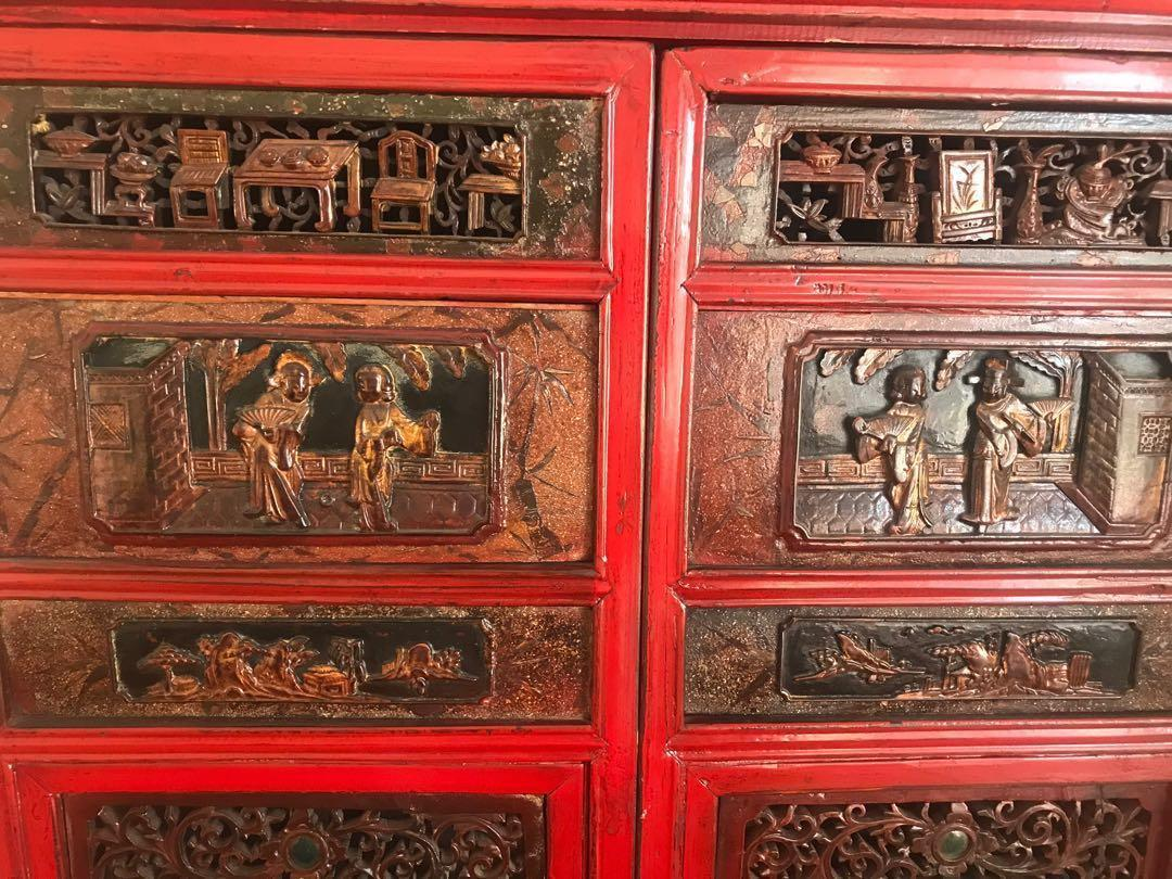 Antique style cabinet