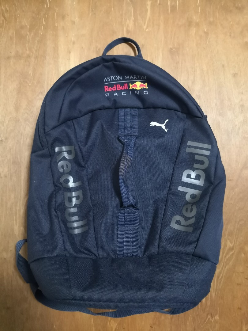dcc0704ee Aston Martin redbull racing team backpack bag, Men's Fashion, Bags &  Wallets, Backpacks on Carousell