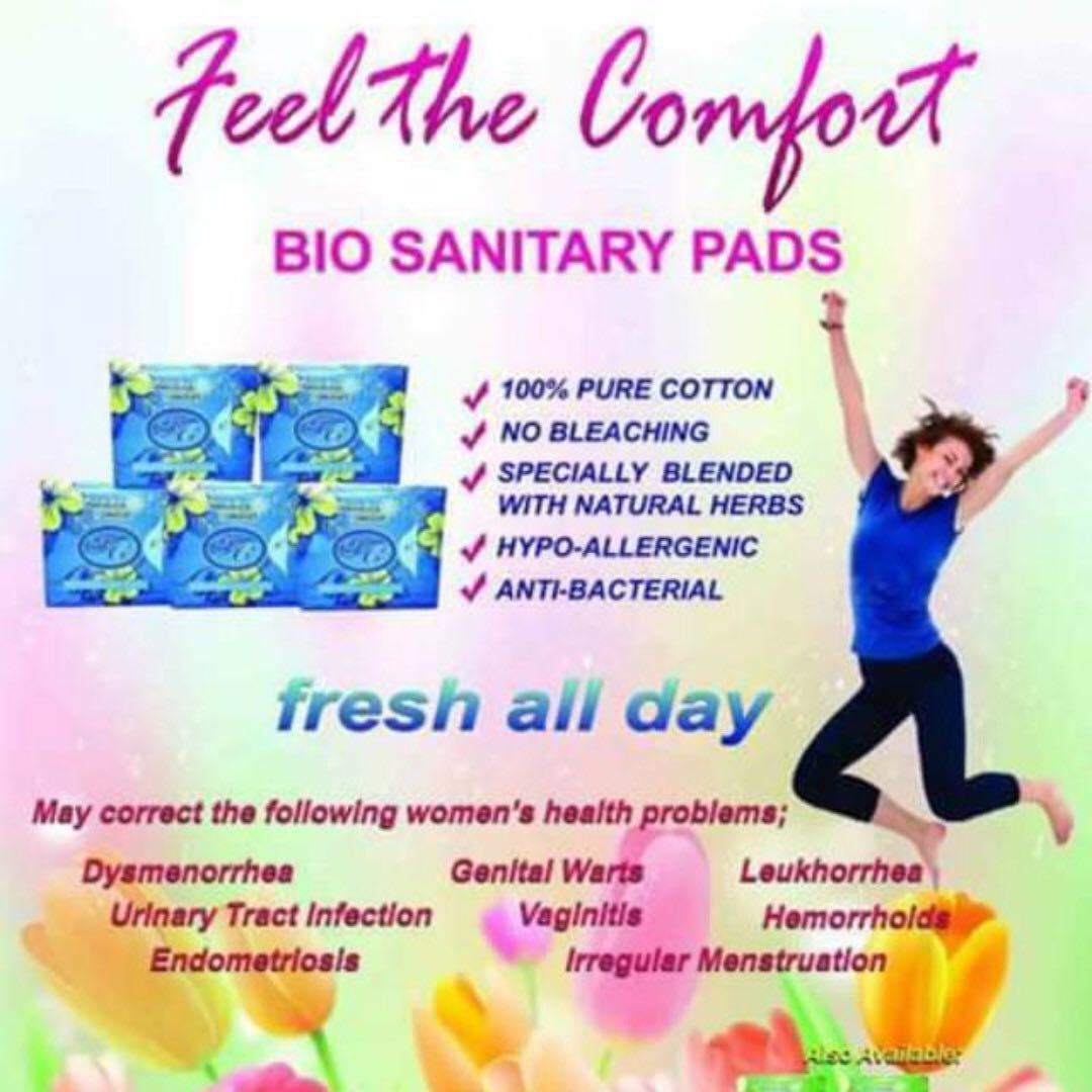 Avail FC Bio Herbal Sanitary Night Pads / Napkins [STOCKS AVAILABLE]