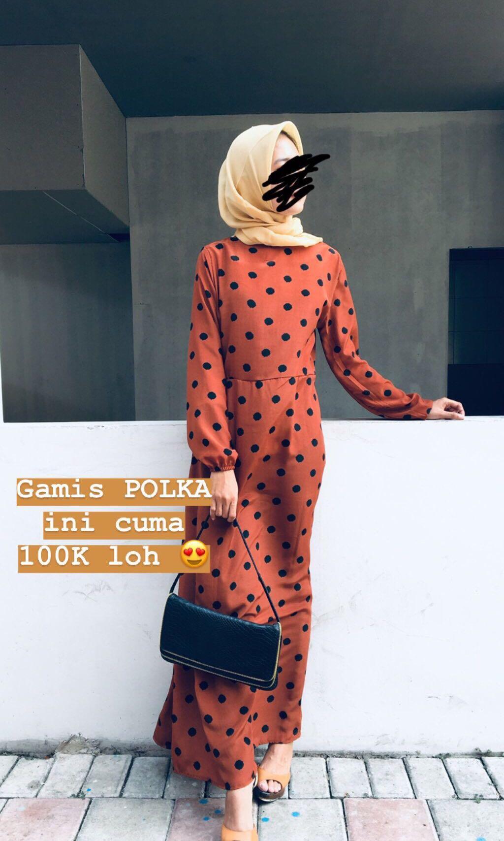 Baju Muslim Simple rumahan