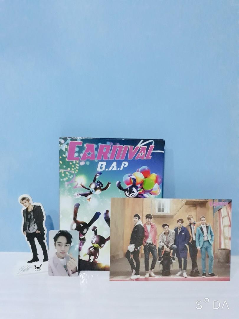 B.A.P Carnival Special edition Daehyun PC + standee