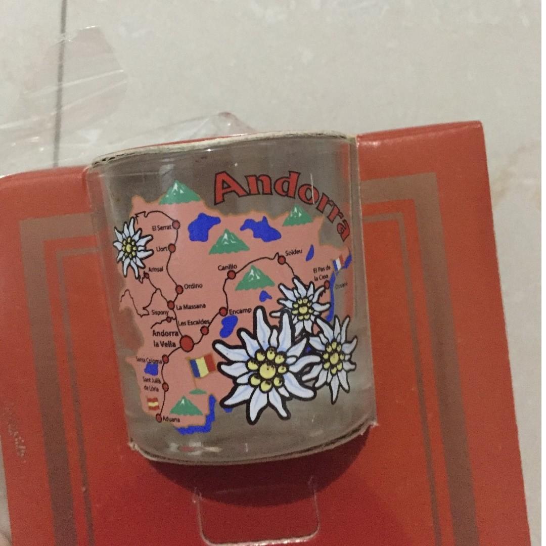 #BAPAU gelas mini Andora