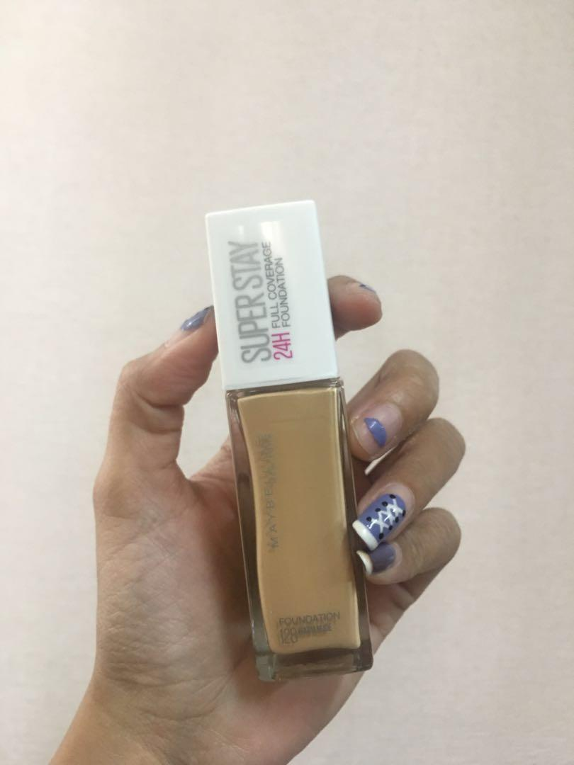 JUST TODAY Maybelline Superstay Foundation Warm Nude